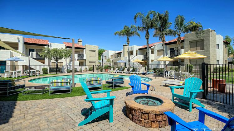 San Diego-based MG Properties Group paid $73.7 million for this 379-unit apartment community in Tempe, according to Vizzda real estate database.
