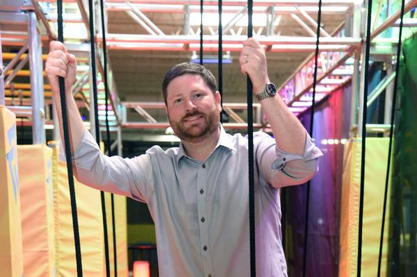 Jonathan Spindler opening Urban Air Adventure Parks in