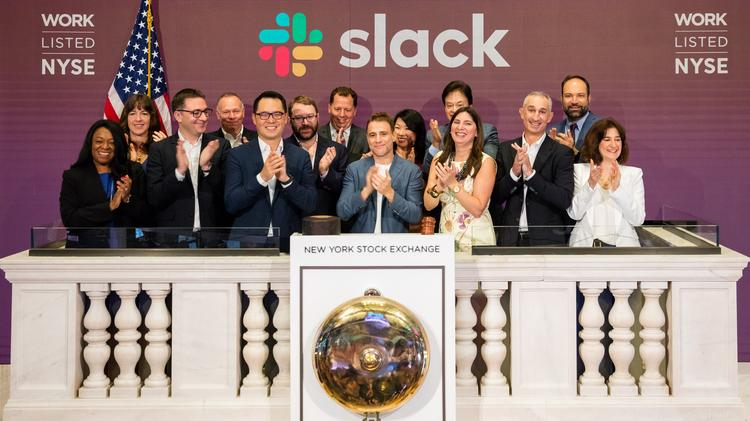Slack's direct IPO gains 12 cents on first-trading day - San