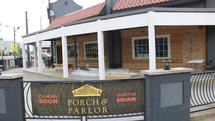 Porch Parlor Set To Open In Midtown Memphis Overton