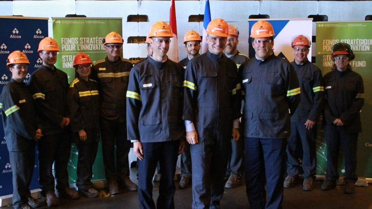 Canada invests $7 5M in Alcoa's Deschambault aluminum plant