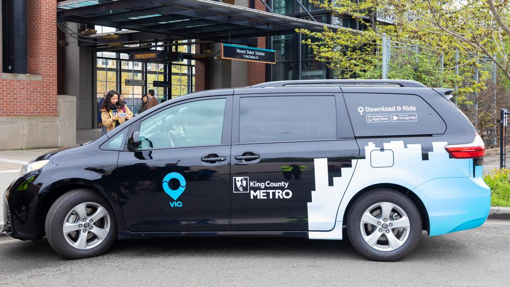 King County on-demand transit pilot program quadruples in two months