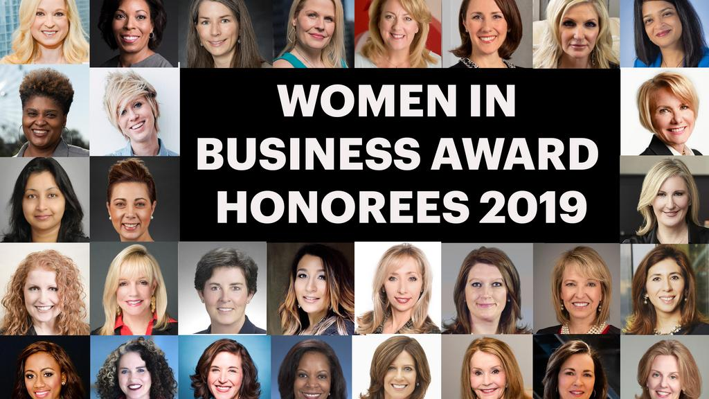 Get to know DFW's 2019 Women in Business honorees