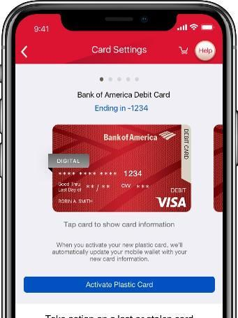 Bank Of America Rolls Out Digital Debit Card Charlotte Business Journal