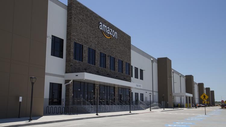 Inside Missouri's first robotic Amazon fulfillment center