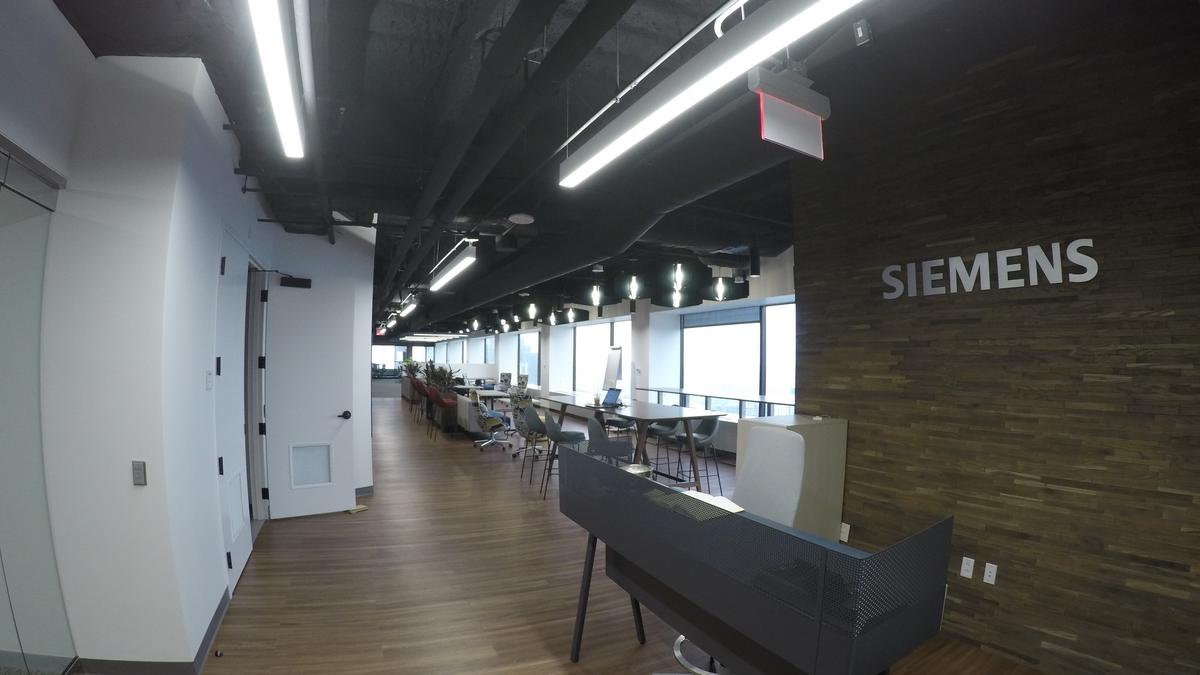 Siemens opens new office with co-working environment at One Federal