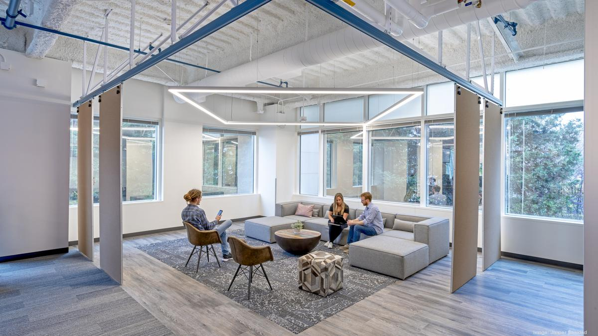 Paypal Shows Off Revamped North San Jose Headquarters Photos Silicon Valley Business Journal
