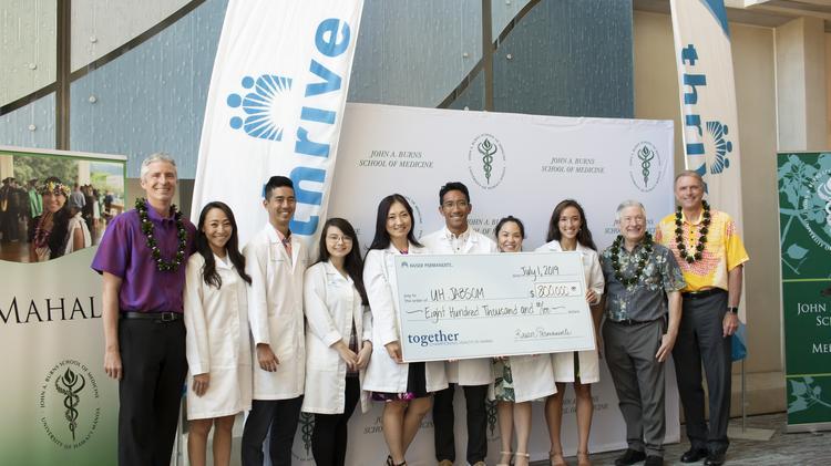 Kaiser Permanente, Hawaii Pacific Health, donate $2 3M to UH