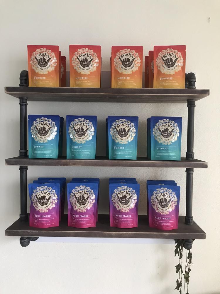 shaka tea display