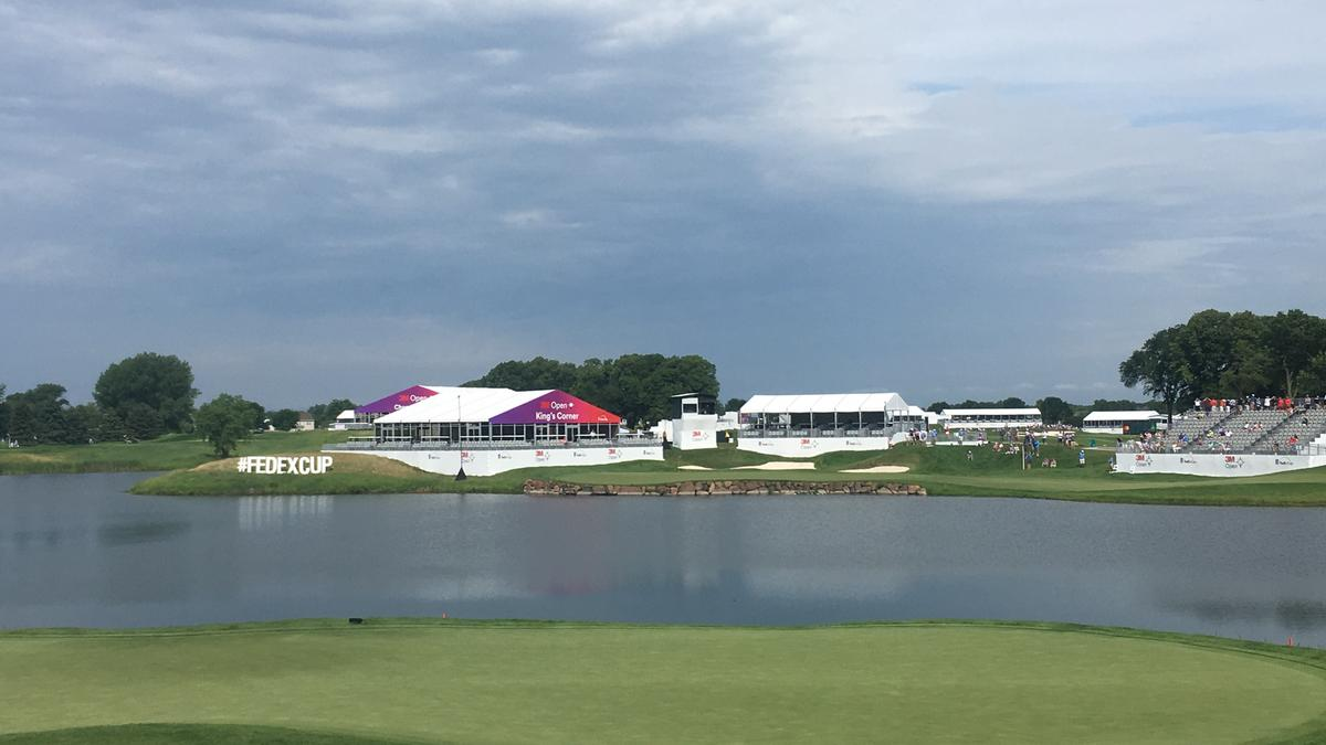 The 3M Open at the TPC Twin Cities in Blaine started off well