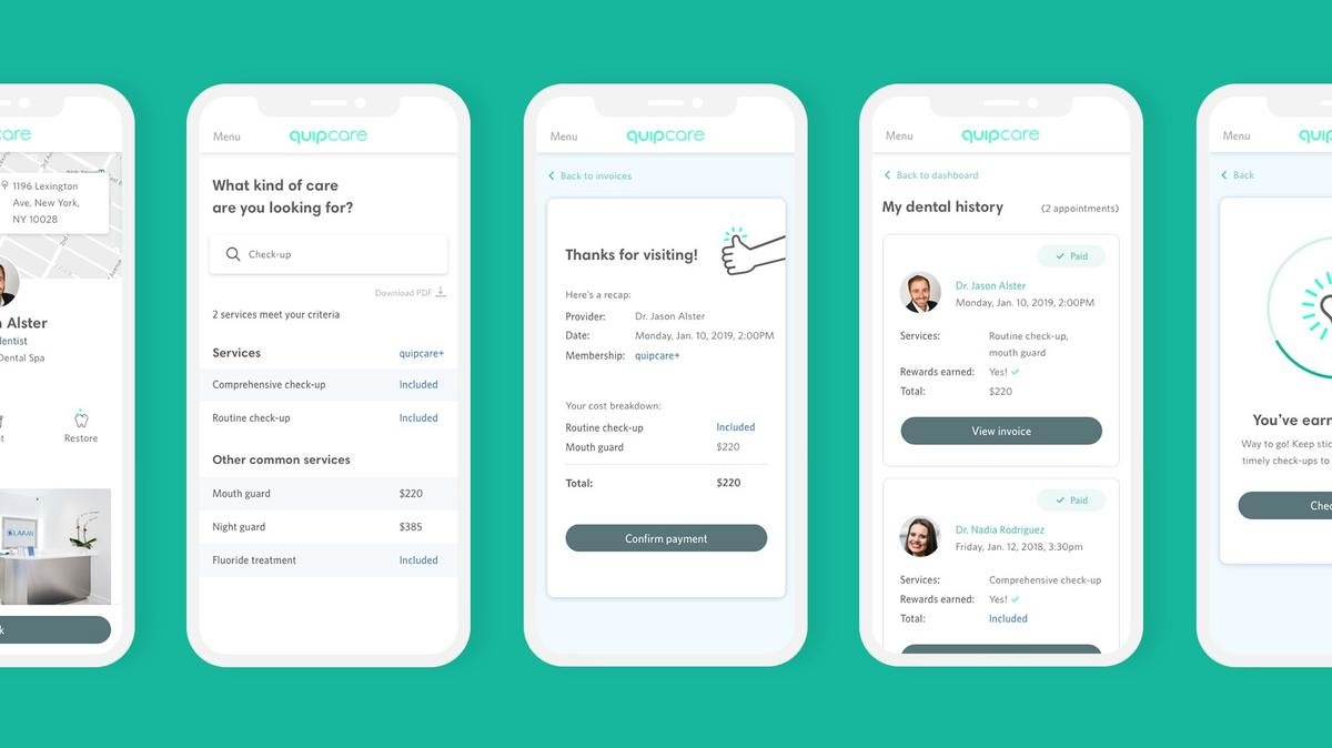 Quip debuts app to help members find and pay for dental care - New