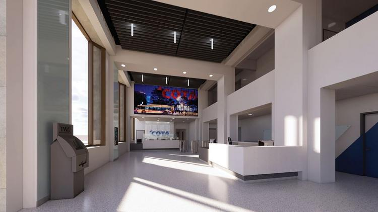 Central Ohio Transit Authority Building New Center On High Street