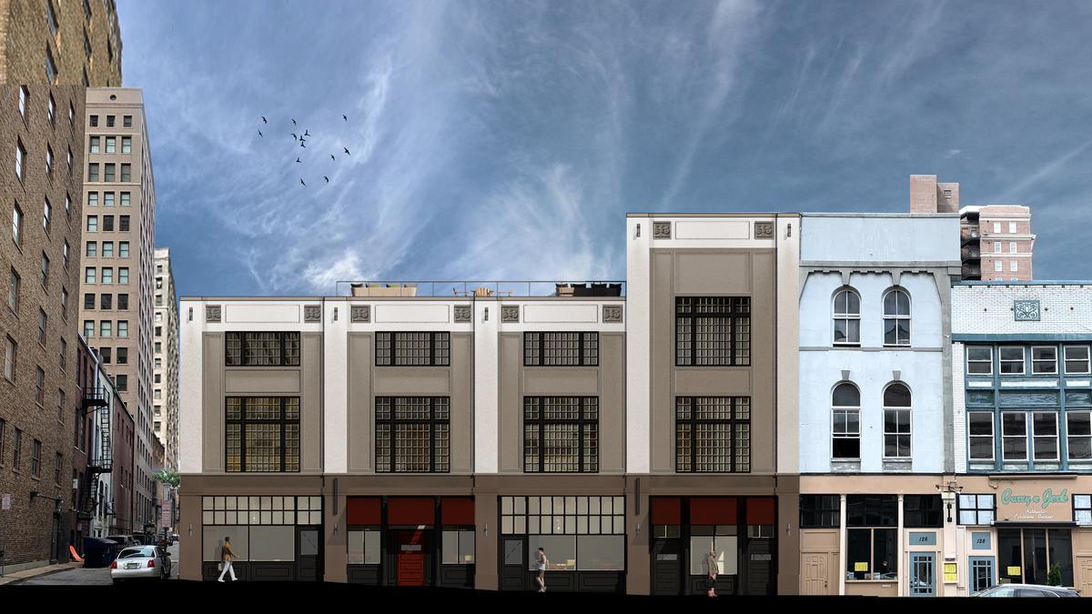 peabody falls mcewens apartments memphis park improvement head  downtown design review