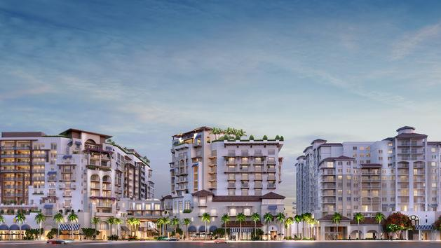 Via Mizner will have condos, hotel rooms, apartments and retail in Boca Raton.