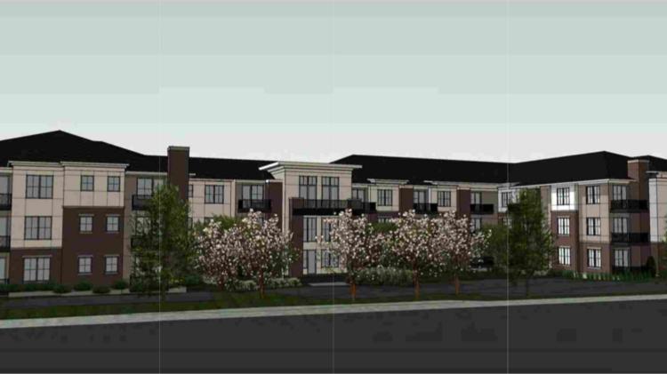 Ron Clark Construction planning 58-unit The Kinsel at Glen Lake ...