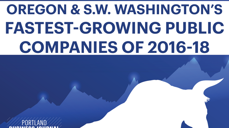 These 27 public companies grew the fastest in Oregon and