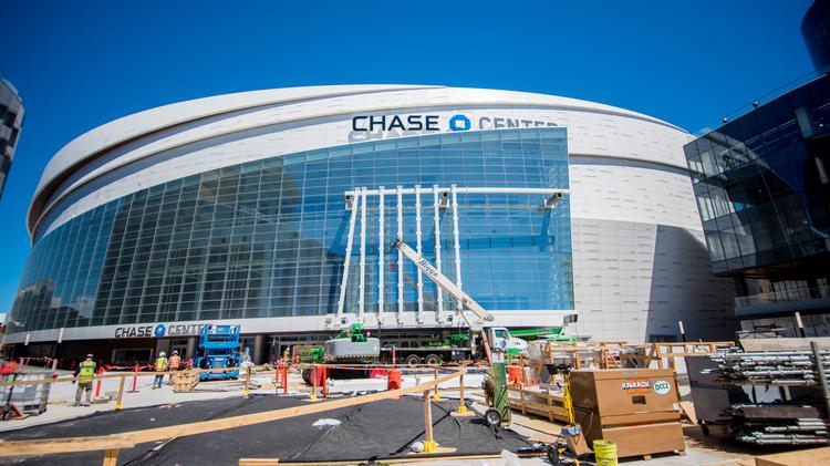 More Than Five Years And 1b In The Making Chase Center Now Ready For Tipoff Video San Francisco Business Times