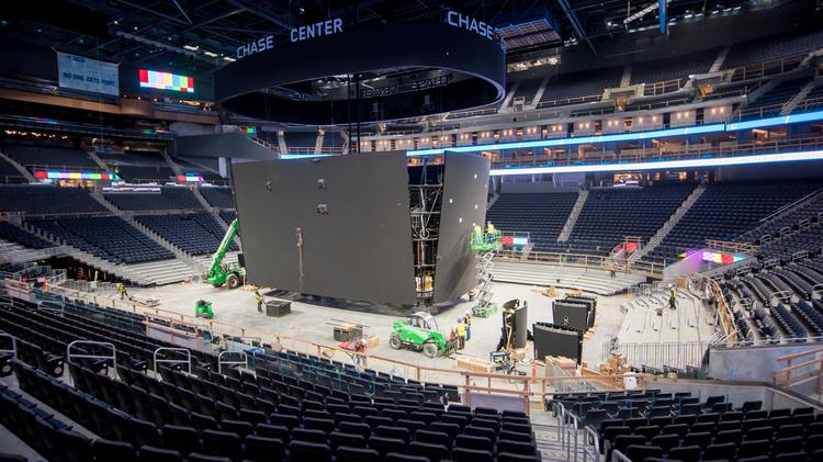 Keeping score: S F 's new Chase Center by the numbers (Video