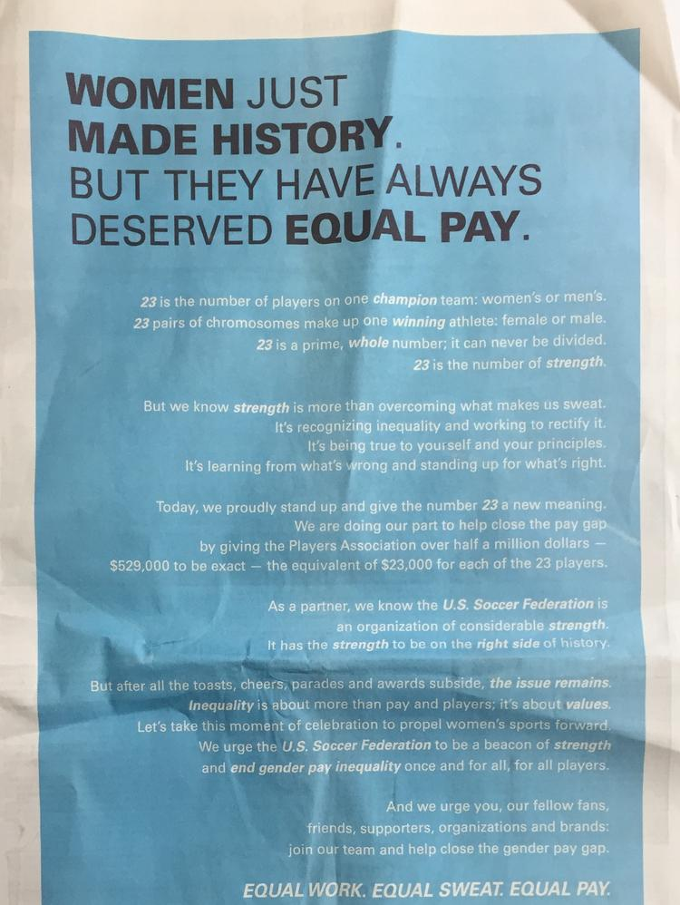 Parents As Equal Participants In Team >> Gillette Owner P G Steps Up Advertising Game On Equal Pay