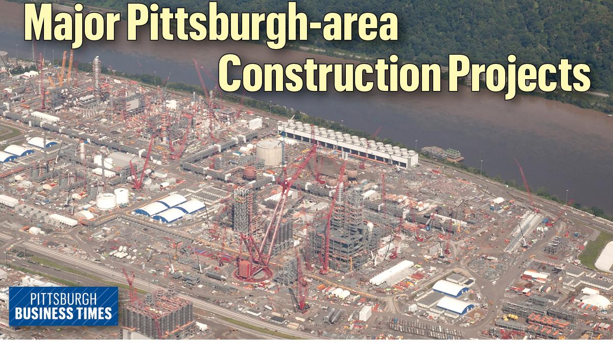 Shell's cracker plant, the arena redevelopment, UPMC and AHN