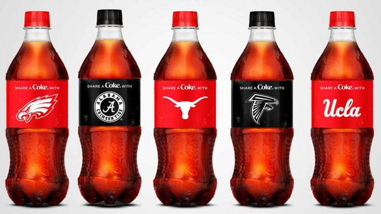 outlet store a38ac 64acb Atlanta Falcons, Coca-Cola on same team in store campaign ...