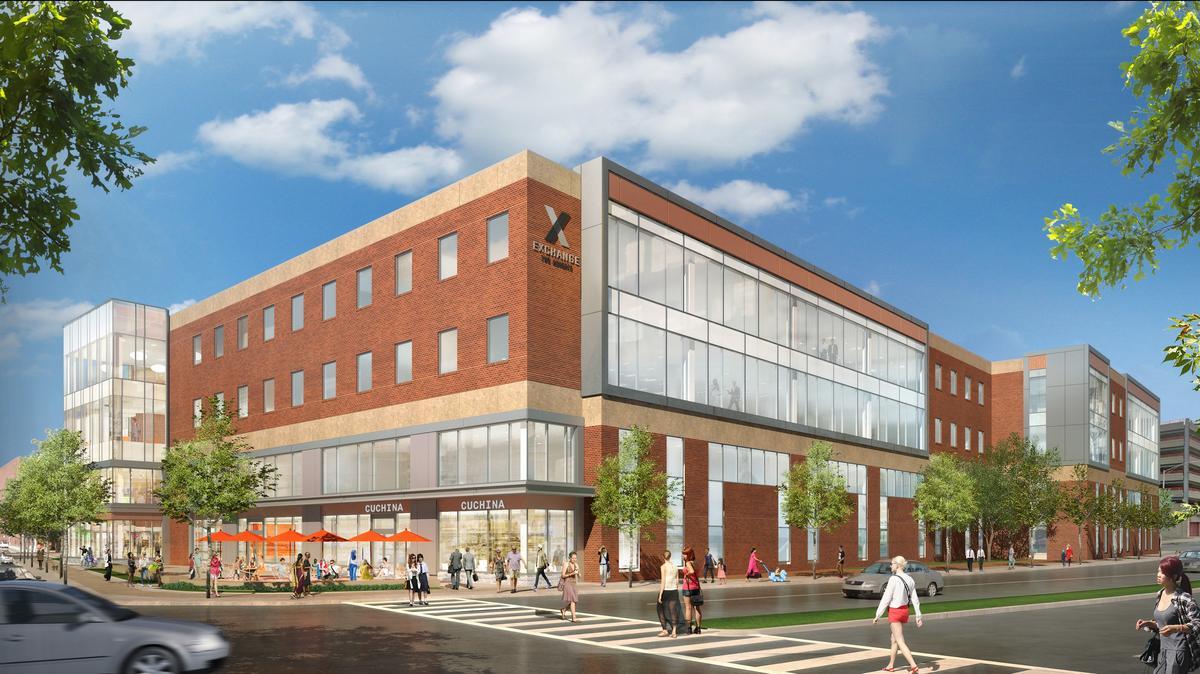 Construction kicks off at Malden Center development - Boston ...