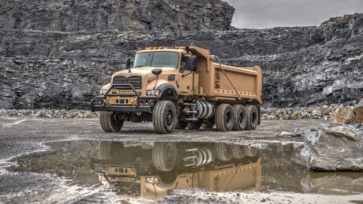 Greensboro-based Mack Trucks helping build modern, rugged