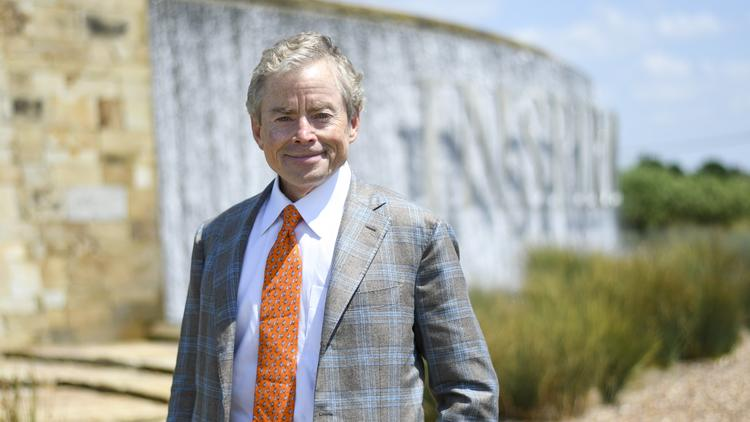 Don Huffines at one of the company's newest developments, Inspiration