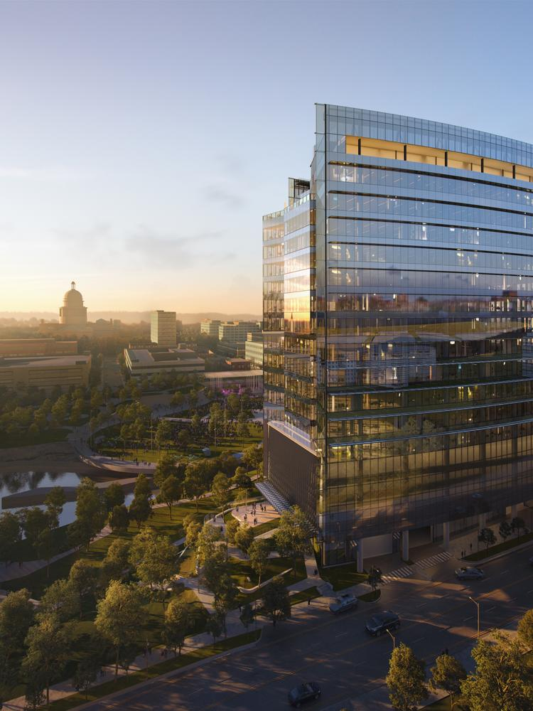 UT innovation district building