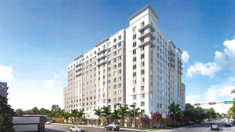 Integra wants to build the 13-story Mosaico affordable apartments in Miami's Allapattah.