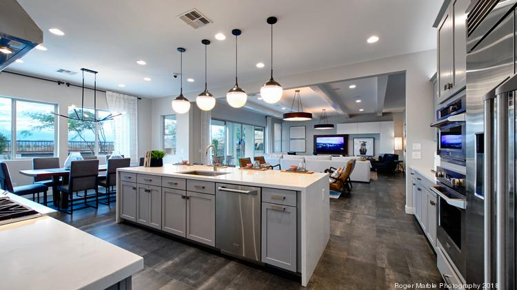 Shea Homes is building luxury homes at Storyrock in north Scottsdale.