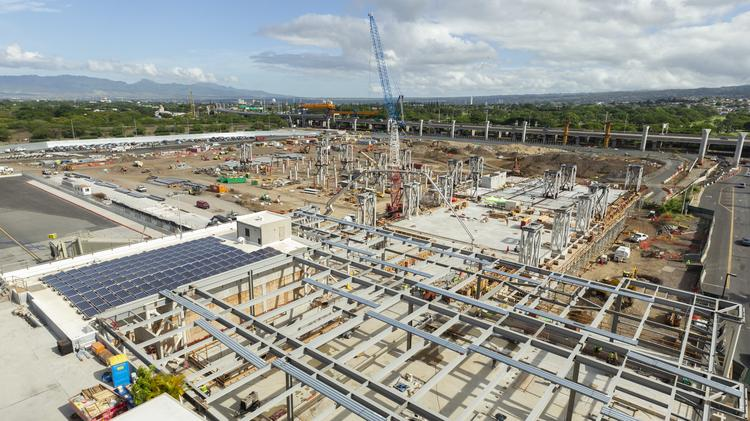 Honolulu airport makes headway on new Mauka Concourse