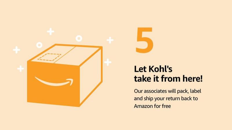 Amazon returns drive increased foot traffic for Kohl's