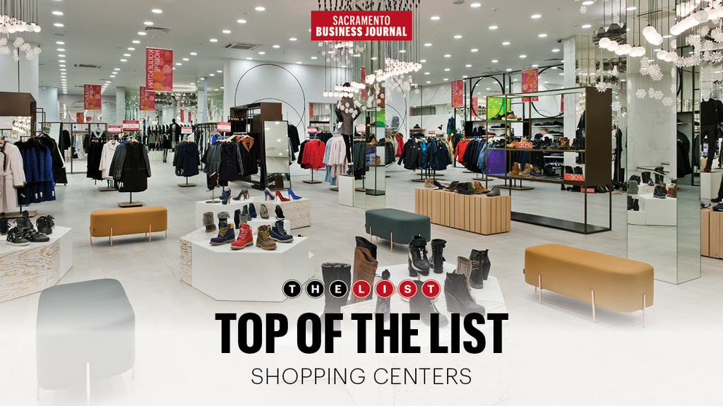 Top of The List: Sacramento area's largest shopping centers