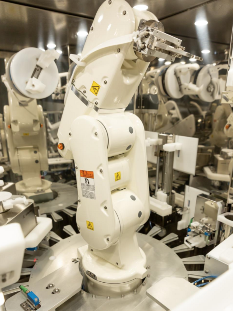 Cone Health using robot pharmacists from OmniCell, Loccioni