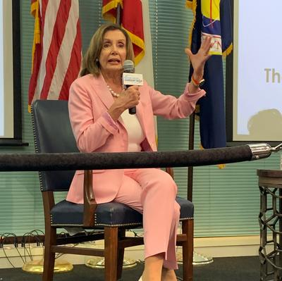 Pelosi visits Port of Houston, discusses infrastructure improvements with business leaders - Houston Business Journal