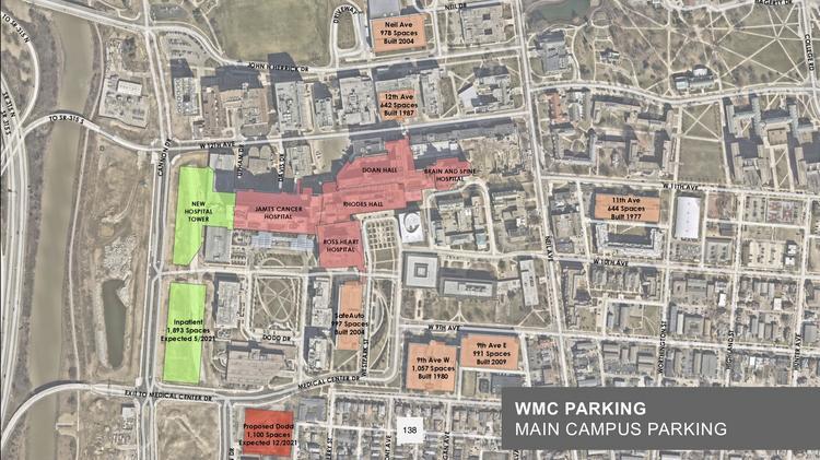 Ohio State Wexner Medical Center Proposes Parking Garage