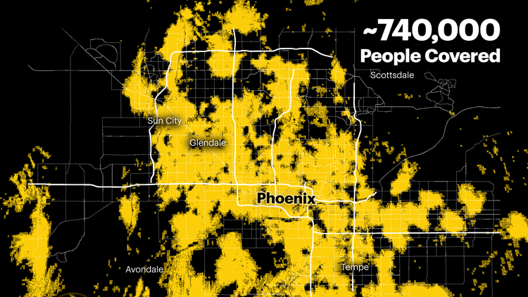 Verizon and Sprint have launched 5G service in Phoenix
