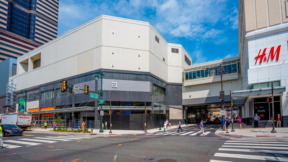 Gallery ready for second act as fashion district - Interior design philadelphia pa ...