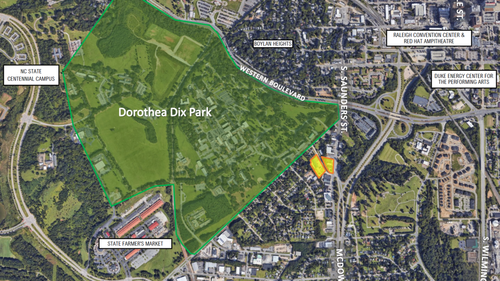 dorothea dix campus map Atlas Stark Partners With Aslan Ventures For Mixed Use Project In dorothea dix campus map
