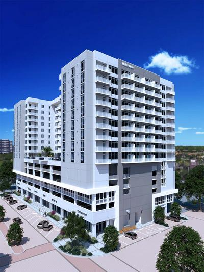 Waterview At Echelon City Center Apartment Tower Tampa Bay Business Journal
