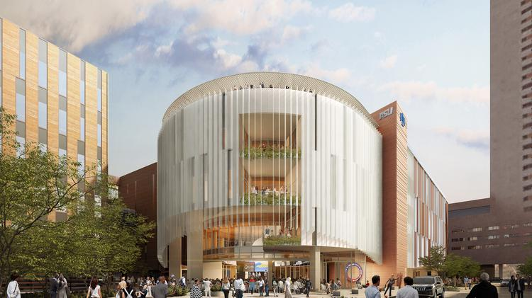 New technology and green building impact new university