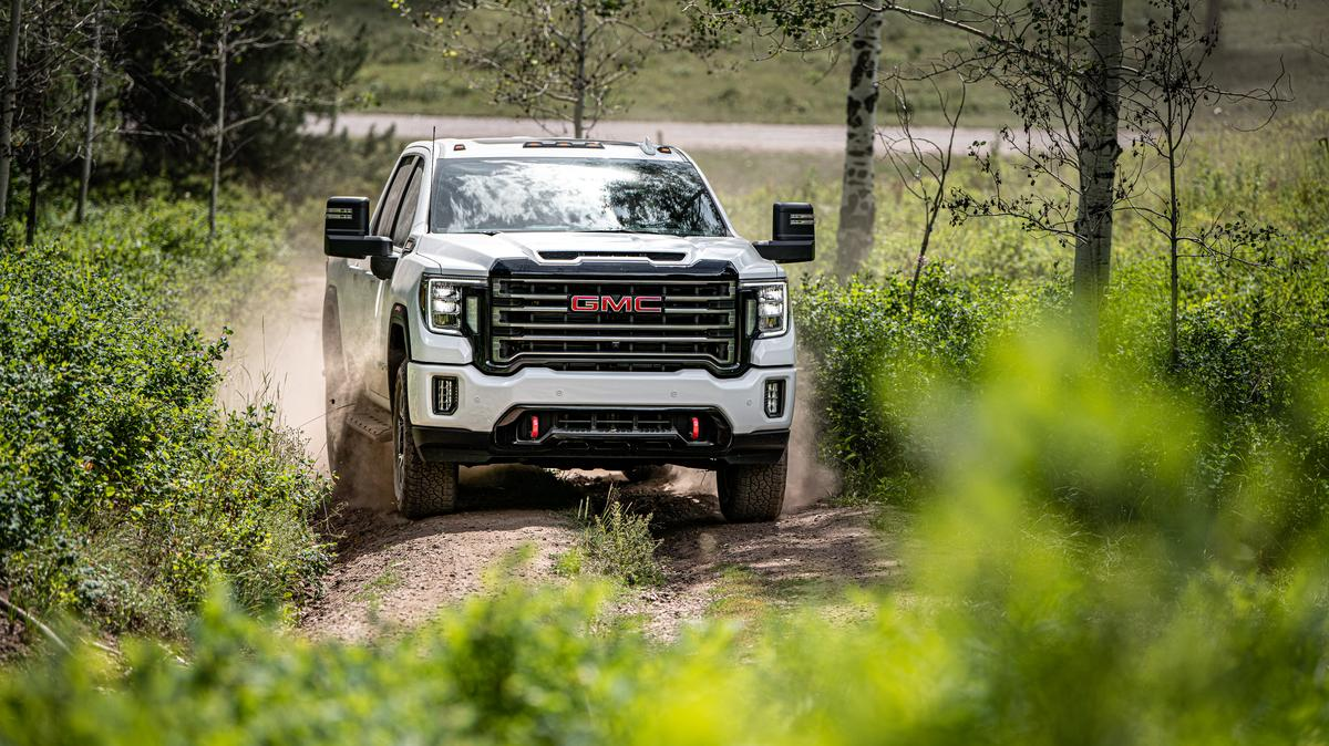 2020 Gmc Sierra Hd S New At4 Trim Is A Compelling Off Road Ready Choice Atlanta Business Chronicle