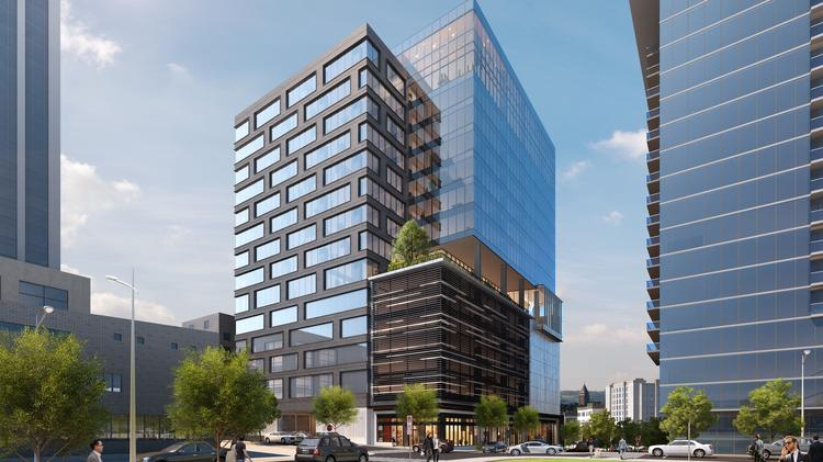 Atlanta's Portman Holdings details plans for debut office