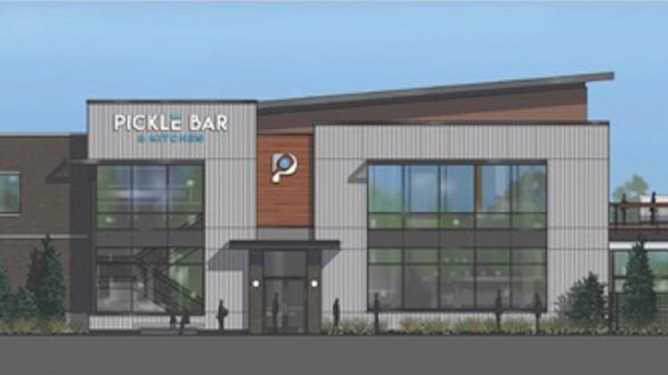 Pictured is a rendering of Pickle Bar + Kitchen's Overland Park location, which is slated to open in the fall of 2020 at Switzer Road and 135th Street.
