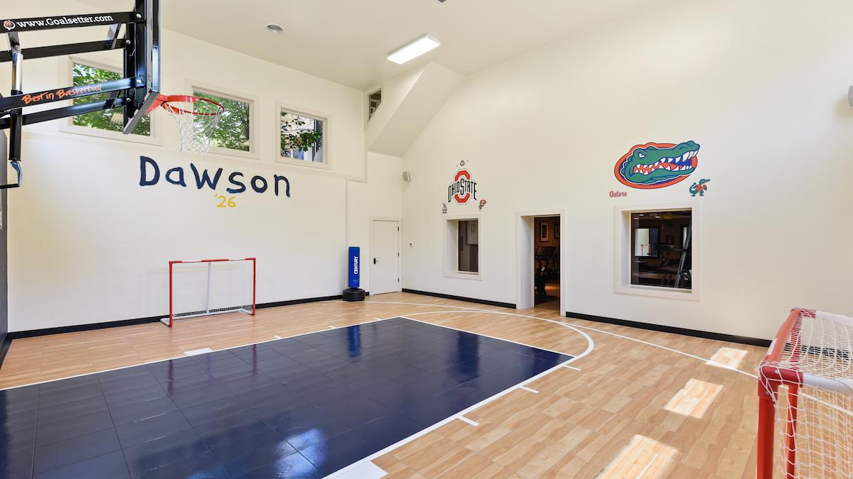 Edina Home Has Indoor Basketball Court Minneapolis St Paul Business Journal