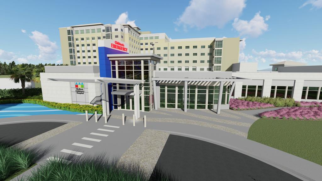 Baptist South updates plans for Wolfson Children's Hospital