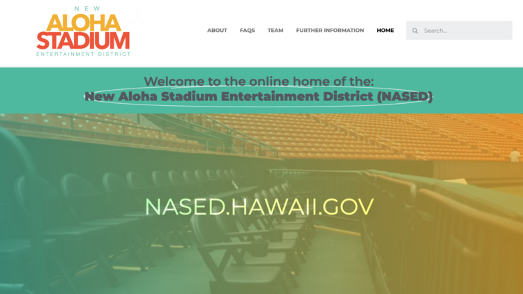 New website launches for Hawaii's Aloha Stadium
