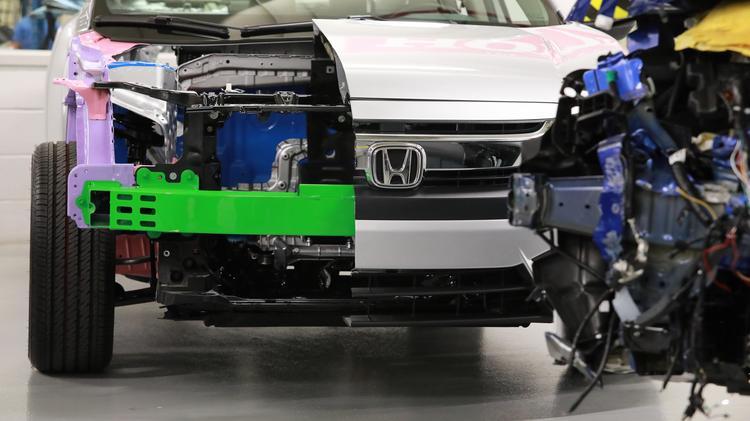 Honda R D In Raymond Ohio Look Inside Columbus Business