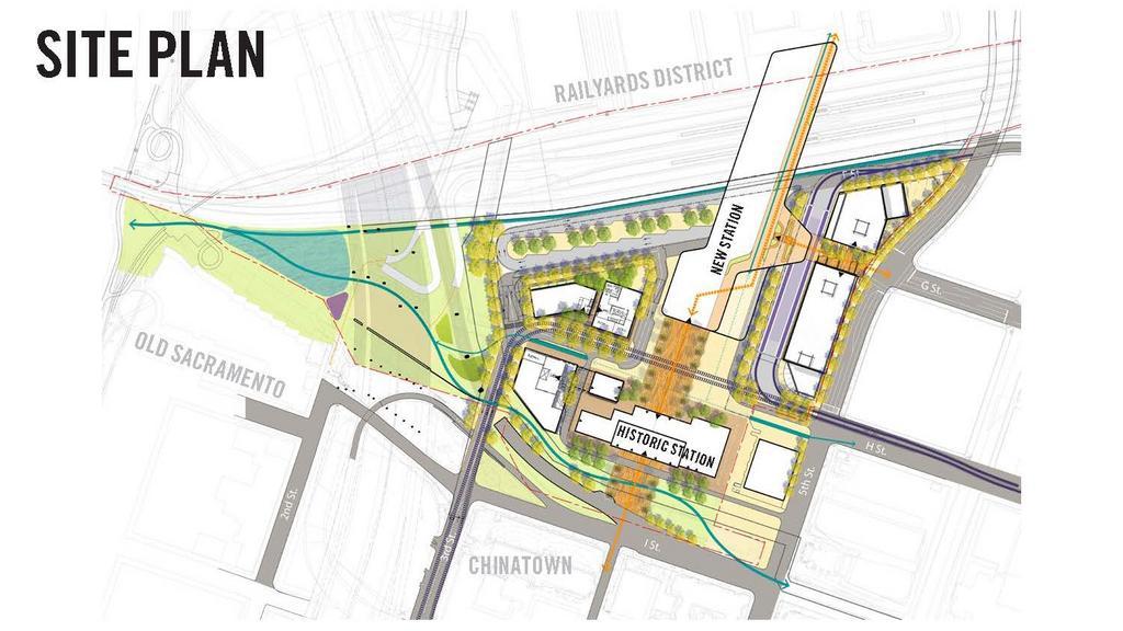 City plans new transit hub at Sacramento Valley Station
